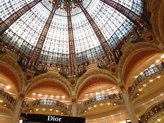 Galeries Lafayette Haussmann: The Dome