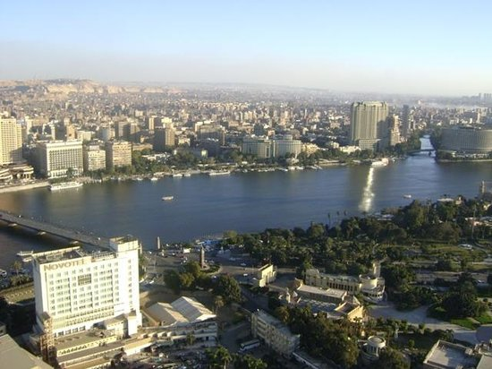 Fernsehturm Kairo: View from Cairo Tower