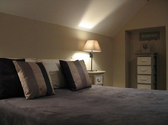 Domaine des Grattieres: Chambre lit double