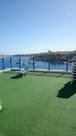 The Waterfront Hotel: view from roof top pool
