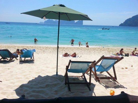Bay View Resort: Long beach