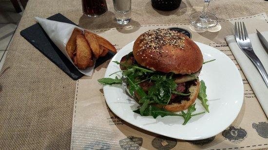 Boeuf Patate : Hambur'goût et frites