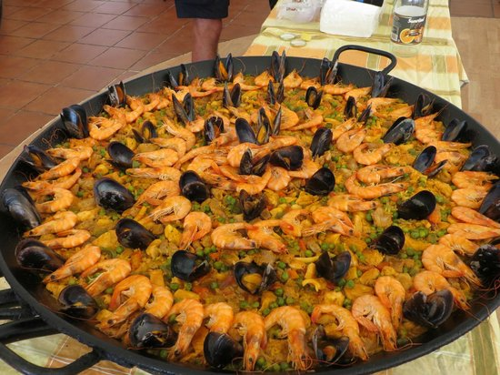 Hotel Coronas Playa : It tasted even better than it looks!