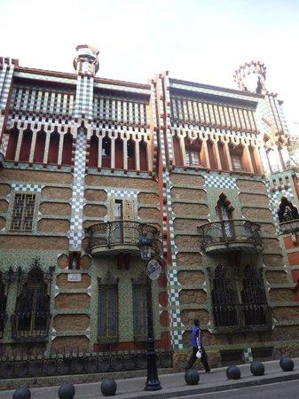 Casa Vicens: Façade principale