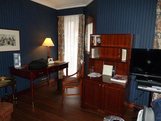 Eurostars Montgomery: chambre