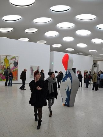 Staedel Museum: contemporary hall