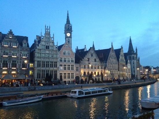Ghent Marriott Hotel: uitzicht vanaf de kamer