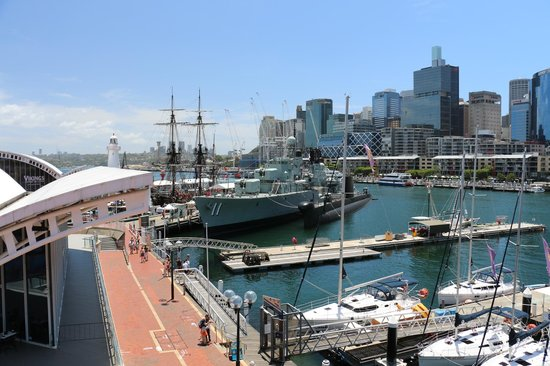 Musée national de la marine de Sydney : オーストラリア国立海洋博物館