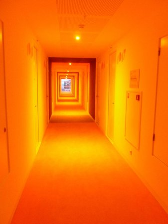 Room Mate Aitana: Corridor