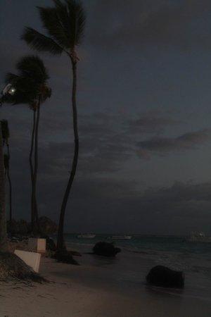 VIK Hotel Arena Blanca: The beach at sunrise