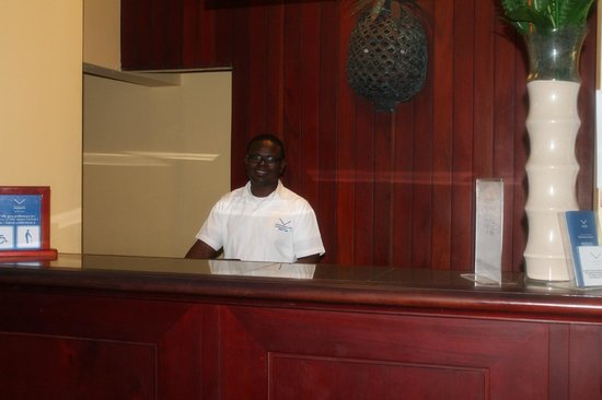 VIK Hotel Arena Blanca: One of the desk staff