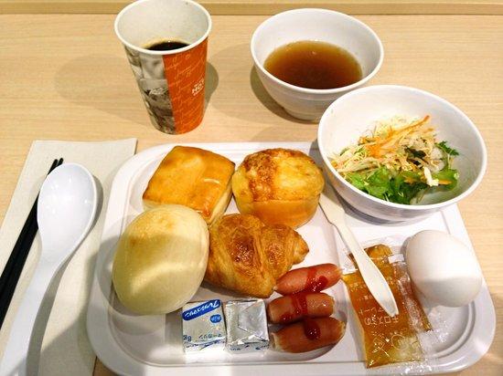 Super Hotel Yokohama Kannai : 朝食