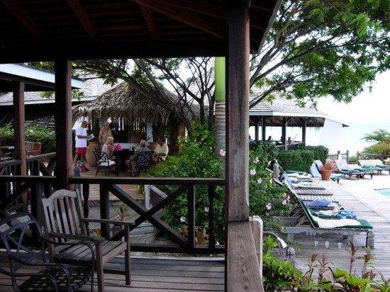 Cocobay Resort : vista dalla sala thè