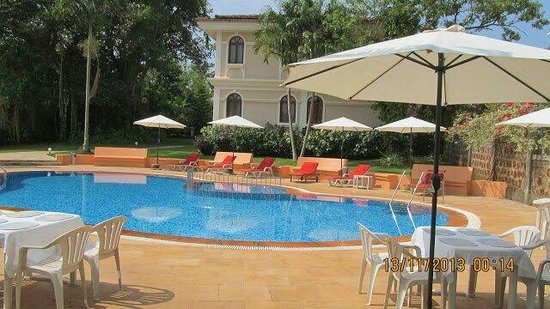 Hacienda De Goa Resort: A beautiful serene view of the resort