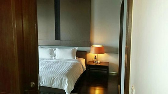 Pathumwan Princess Hotel: Bett