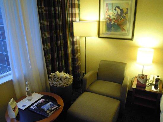Crowne Plaza Amsterdam Schiphol: comfy seat