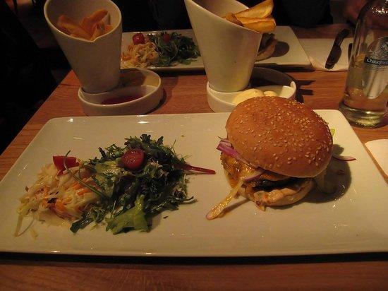 Hudson Bar & Kitchen Rotterdam: Big Hamburger
