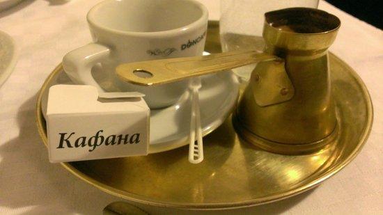 Kafana Question Mark : домача кафа