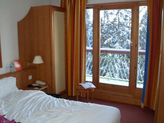 Les Villages Clubs du Soleil Arc 1800: chambre au huitième étage avec balcon