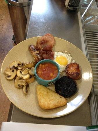 Cafe 22 : Small breakfast