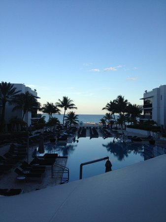 The Ritz-Carlton, South Beach : View from our terrace
