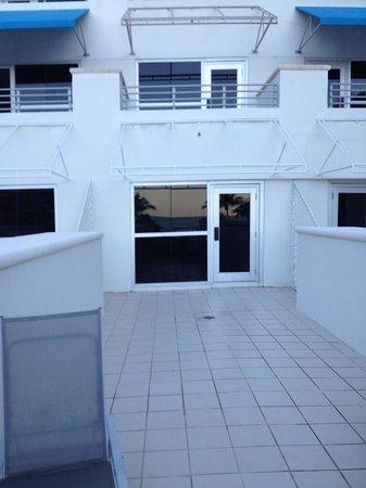 The Ritz-Carlton, South Beach : Our terrace
