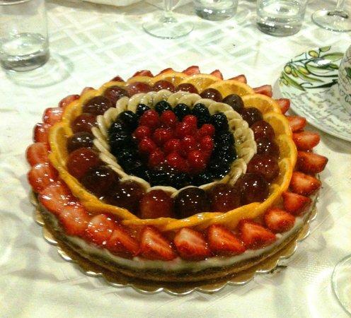 Cookbook: La crostata di frutta fatta appositamente dallo chef per il mio compleanno!