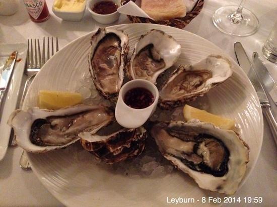 The Garden @ Wensleydale Heifer: Irish oysters