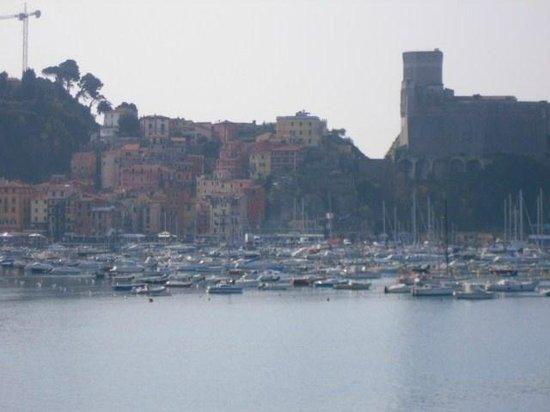 Castello di Lerici: ..il castello..