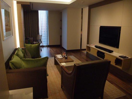 Sheraton Seoul D Cube City Hotel: リビング