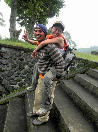 Made Parta (A Bali Driver) - Private Day Tours: BALI SUNRISE TREKKING (down)