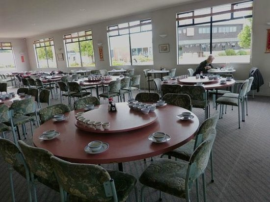 China City Licensed BYO Restaurant: Empty dining room, very pleasant