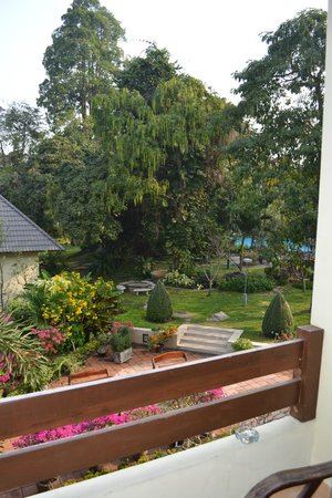 Garden Lodge: Вид из номера