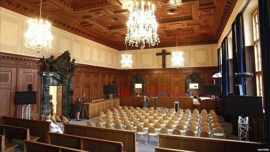 Nuremburg Trial Courthouse: from the inside
