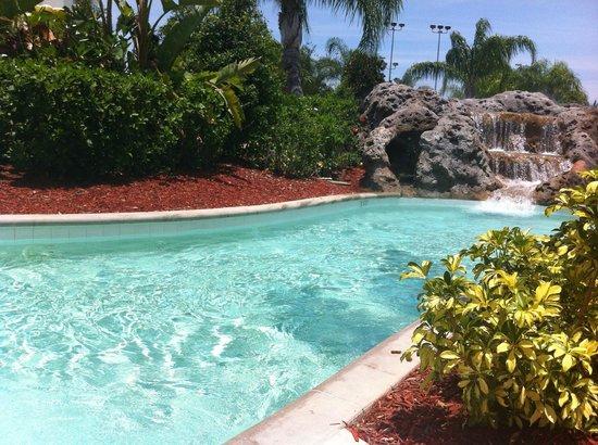 Hilton Orlando: our fav spot on the lazy river