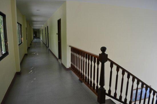 Garden Lodge: Коридор второго этажа