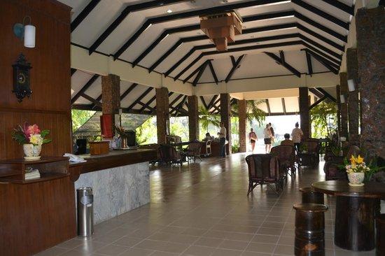 Garden Lodge: Ресепшен