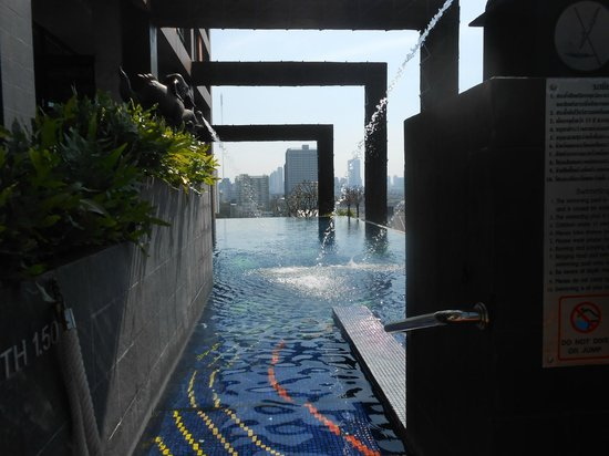 Siam@Siam Design Hotel Bangkok: toller Ausblick