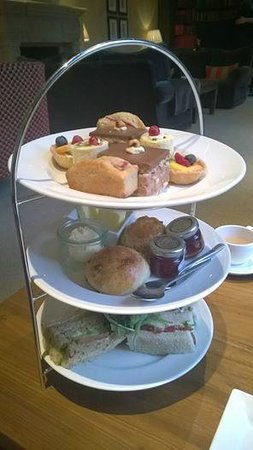 Clocktower Bar & Restaurant : Afternoon tea at the Clocktower restaurant