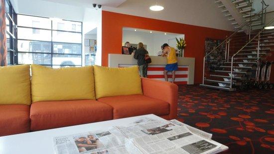 Travelodge Hotel Hobart: Ankomst/Ophold