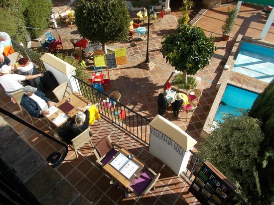ClubHotel Riu Costa del Sol : Looking down at Mijas cafe