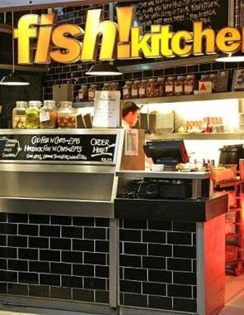 Fish kitchen takeaway next door is perfect for grabbing for Perfect kitchen harrogate takeaway