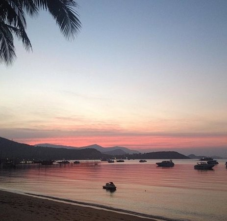 Samui Mermaid Resort: Sunset