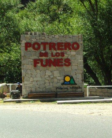 Hotel Aiello: Paseo cercano:  Potrero de los Funes