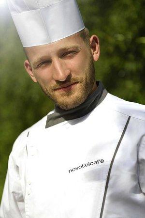 Novotel Cafe Survilliers St Witz: Le chef