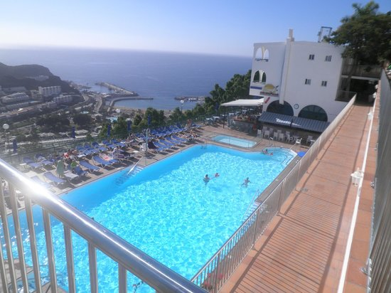 "Colina Mar Apartments : "" View from above the pool """