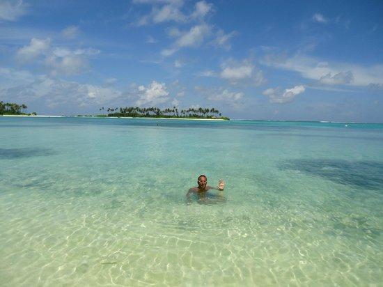 Olhuveli Beach & Spa Maldives : spiaggia