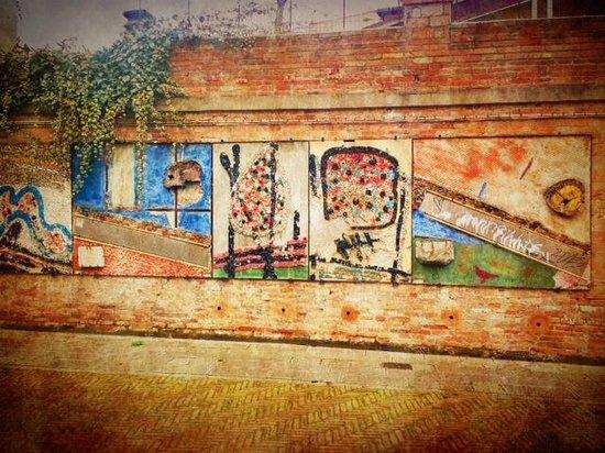 Hotel Moresco: Venetian street art