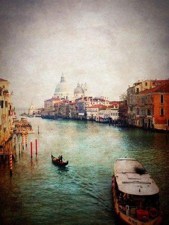 Hotel Moresco: Grand Canal, Venice - from Ponte dell'academia