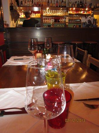 Osteria Borghese: Симпатичная сервировка